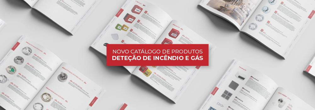 Deteção de incêndio e Gás | Catálogo de produtos