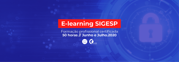 Formação SIGESP E-LEARNING | 2ª edição